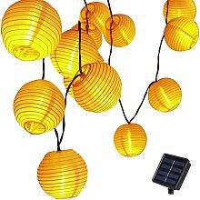 Énergie solaire Guirlande Lumineuses LED Lanterne