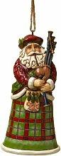 Enesco 4022943 Suspension Père Noël Ecossais