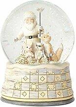 Enesco 4058740 Père Noël Boule Neigeuse
