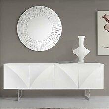 Enfilade design blanc laqué effet 3D MANAMA