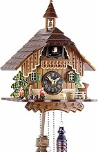 Engstler Horloge à coucou de la Forêt-Noire - En