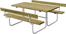 Ensemble bancs et table longueur 1770 mm