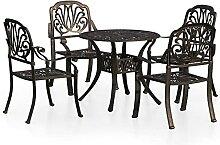 Ensemble Biatro 5 pièces Table et chaises de