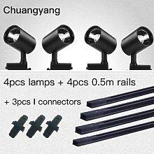 Ensemble complet de systèmes d'éclairage sur