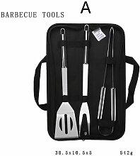 Ensemble d'outils de barbecue pour barbecue en