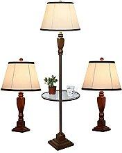 Ensemble De 3 Lampadaires De Table Traditionnels,
