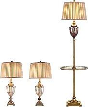 Ensemble De 3 Lampes De Table Et De Sol Pour La