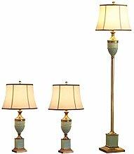 Ensemble de 3 lampes de table rétro et