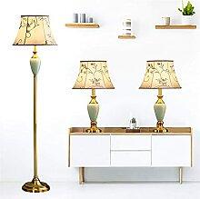 Ensemble De 3 Lampes Vintage En Laiton Antique, 2