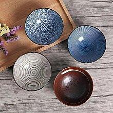 Ensemble de 4 bols de dîner en céramique