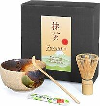 Ensemble de bols à matcha japonais (Chawan) -
