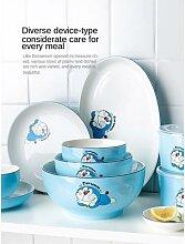 Ensemble de bols et plats créatifs, vaisselle de