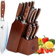 Ensemble de couteaux de cuisine Vestaware 16