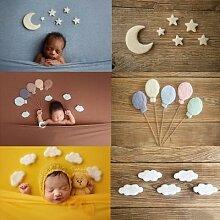 Ensemble de décorations lune et étoiles pour