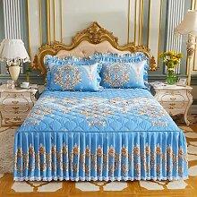 Ensemble de draps de lit princesse, couvre-lit,