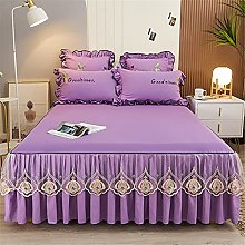 Ensemble de draps de lit Tapis de lit en dentelle
