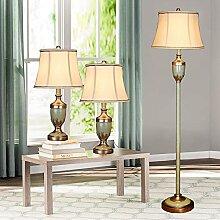 Ensemble De Lampe De Table Et De Sol En Résine 3