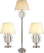 Ensemble De Lampes De Sol Et De Table 3 Pièces,