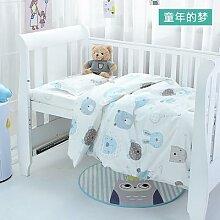 Ensemble de literie pour lit de bébé, 3 pièces,