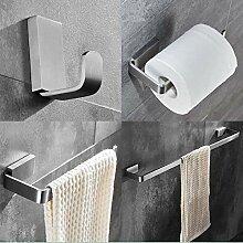 Ensemble de matériel de salle de bain en nickel