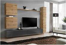 Ensemble de meuble de salon, SWITCH VIII.Meuble TV
