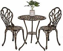 Ensemble de meubles de jardin en alliage