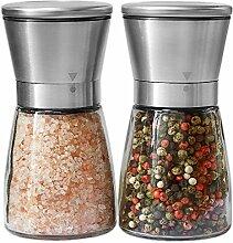 Ensemble de moulins à sel et à poivre pour chef