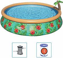 Ensemble de piscine gonflable Paradise Palms