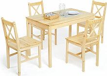 Ensemble de Salle à Manger, Table à Manger et 4