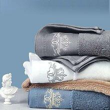 Ensemble de serviettes de bain 2021 coton, nouvel