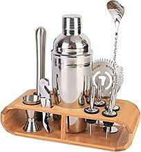 Ensemble de shaker à cocktail, outils et