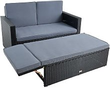 Ensemble de sièges en polyrotin Canapé de salon
