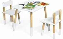 Ensemble de table et 2 chaises pour enfants de