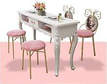 Ensemble de table et chaise pour nail art,