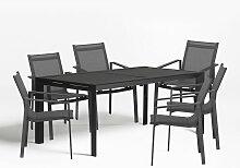 Ensemble de table extensible Starmi (180-240 cm)