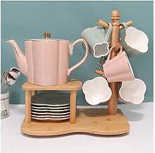 Ensemble de tasses à café en céramique de style