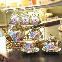 Ensemble de tasses à café en porcelaine,