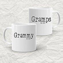 Ensemble de tasses à café Gramps and Grammy