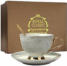 Ensemble de tasses à thé et café en porcelaine