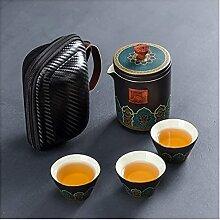 Ensemble de thé chinois Kung Fu en céramique -