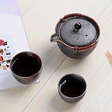 Ensemble de thé de voyage de style en céramique