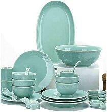 Ensemble de Vaisselle Assiette de Luxe légère