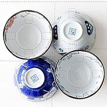 Ensemble de vaisselle de ménage en céramique