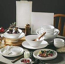 Ensemble de vaisselle en céramique, jeu de dîner