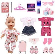 Ensemble de vêtements et accessoires pour bébé
