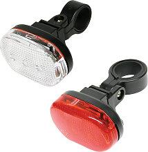 Ensemble feu vélo LED  (2 Pièces)