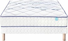 Ensemble Joystic 140x190 cm - Matelas ressorts et