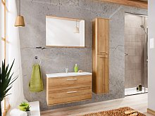 Ensemble KAYLA - meubles de salle de bain 80cm -
