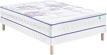 Ensemble Merinos CHILLY WAVE, Sommier Confort
