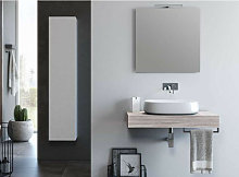 Ensemble meuble de salle de bain bois clair et